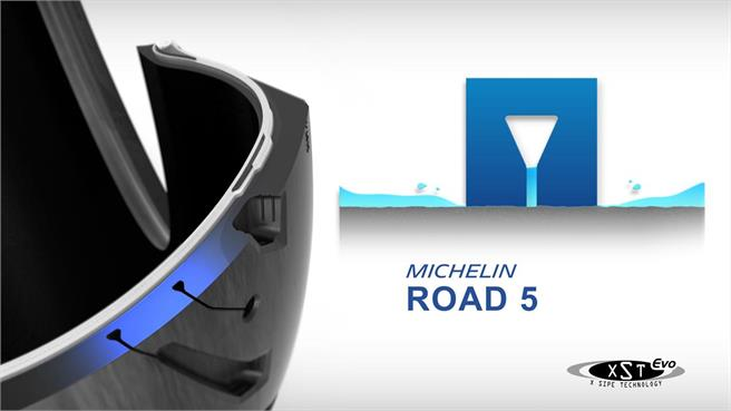 Michelin Road 5: Más prestaciones