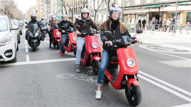 eScooters Niu: Scooters eléctricos