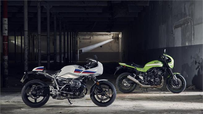 BMW nineT Racer vs Kawasaki Z900RS Cafe