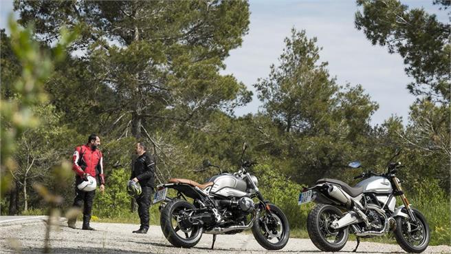 Ducati Scrambler 1100 vs BMW Scrambler