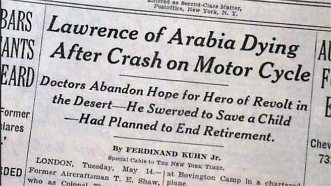 Lawrence de Arabia: El hombre al que le debes la vida, aunque no lo sepas