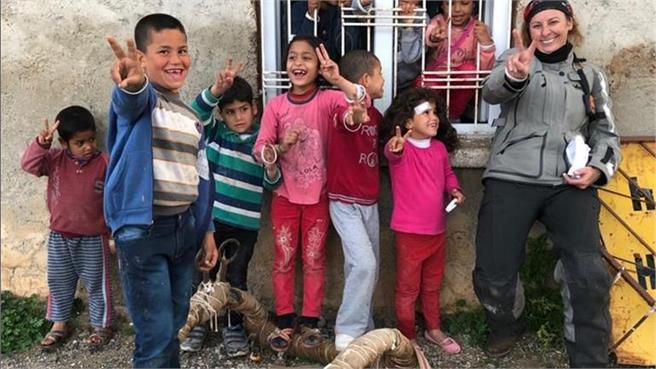Elsi Rider en Arabia, en la atmósfera de la guerra de Turquía y Síria