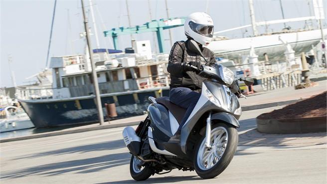 Piaggio Medley 125: diseño en rueda alta