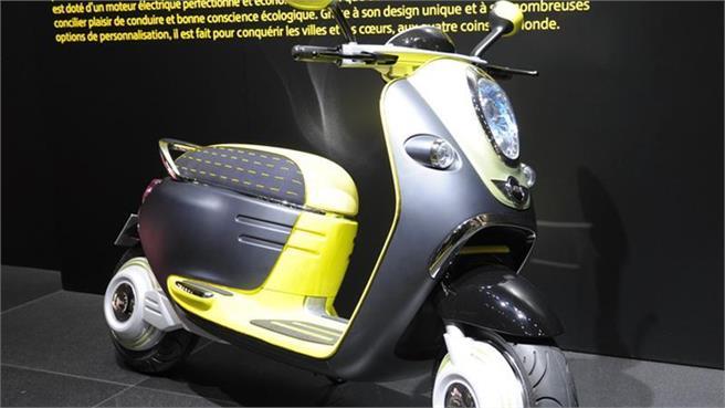 Mini Scooter E Concept La Nueva Era De Emisiones Cero Nuevo 2010