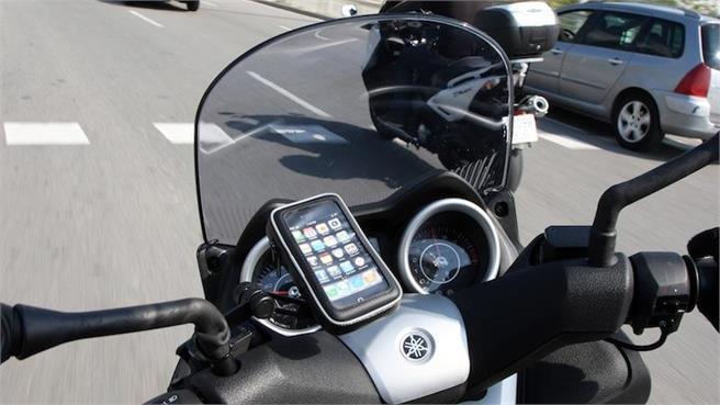 SHAD: Soportes para GPS y Smart Phone