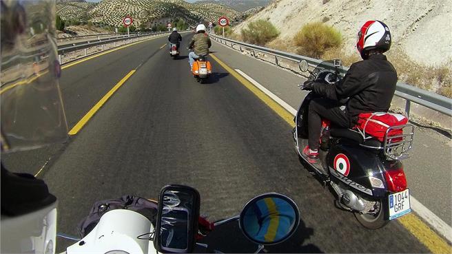 Vuelta a Andalucía en Vespa en 48 horas
