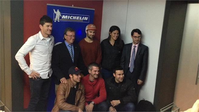 Reconocimiento Michelin a sus pilotos