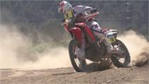 Honda CRF 450 Rally de Barreda