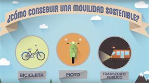 La moto, la solución sostenible