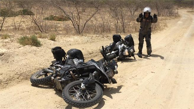 Viaje en moto por Colombia