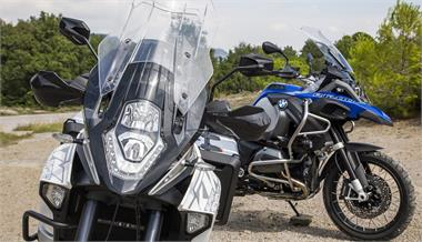 BMW R 1200 GS Adventure vs KTM 1290 Super Adventure