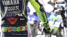 Valentino Rossi y Dainese