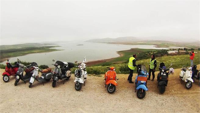 Vespa Tour Marruecos