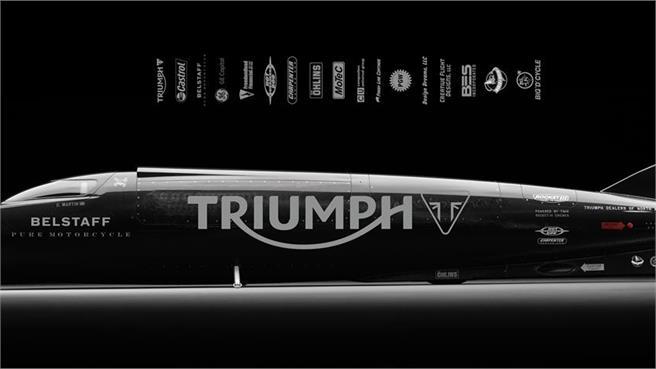 Récord Velocidad Triumph