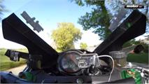 Kawasaki Ninja H2R en la Isla de Man
