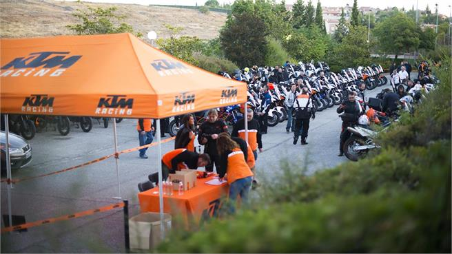 3a Reunión KTM Adventure: éxito naranja