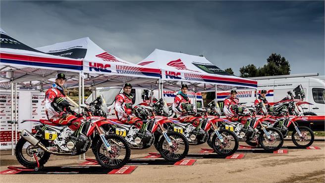 Presentación Team Honda Dakar 2017