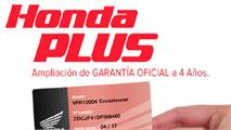 Honda Plus: financiación y seguro a tu medida