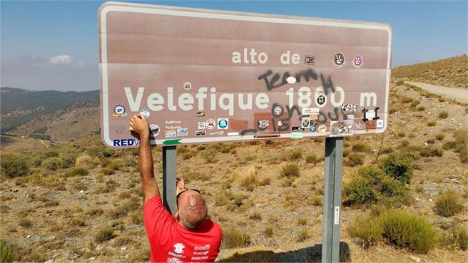 Ruta en Vespa a Velefique: con 2 y 4T