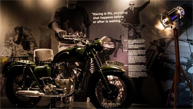 Triumph: Visitor Experience Center