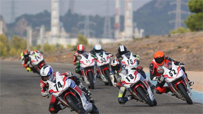 Copa Honda CBR300R:Guillem Erill Campeón