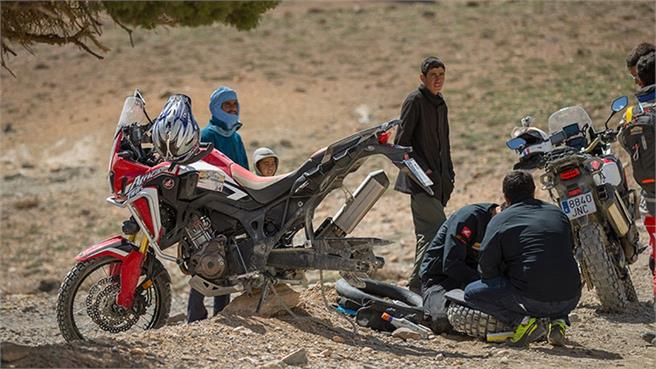 Honda Africa Twin Morocco Epic Tour