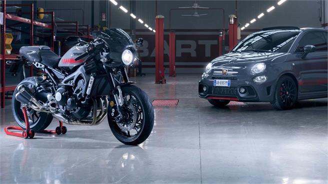 Yamaha XSR900 Abarth: para sibaritas