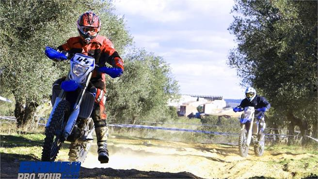 Enduro Pro Tour de Yamaha: ¡Objetivo OK!