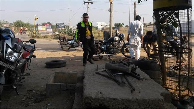 A la India en moto (3ª parte): En India