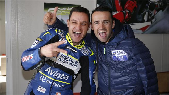 Reale Avintia Racing MotoGP Team: fuerza