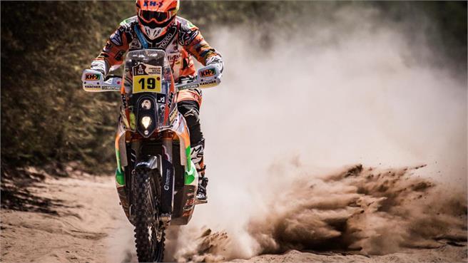 KTM 450 Rally del Dakar: regalo para KH7