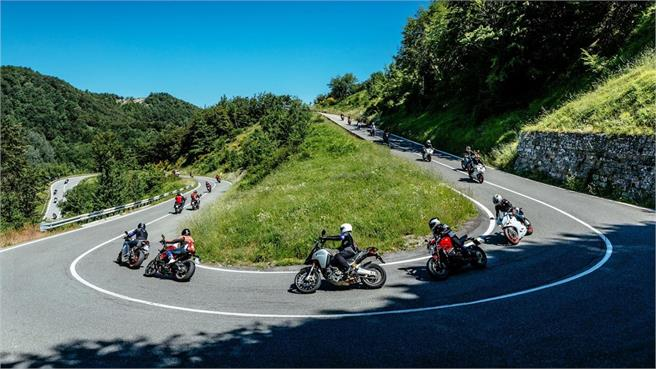 Rallye Turístico de Ducati por Pirineos