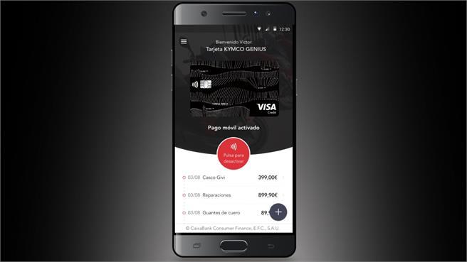 KYMCO España pago por móvil