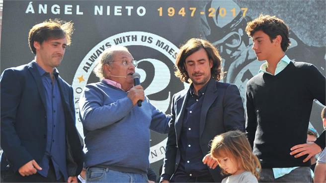 Homenaje Ángel Nieto: Despedida campeón