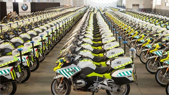 291 BMW R 1200 RT para la Guardia Civil
