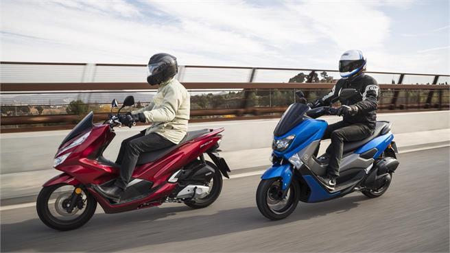 Honda PCX 125 vs Yamaha NMAX 125