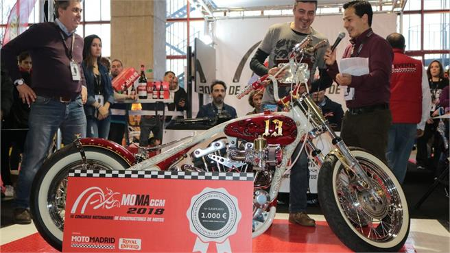 Moto Madrid 2018: VII Salón Comercial