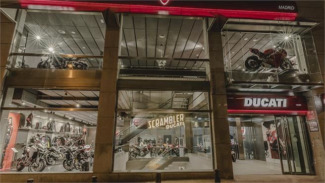 Nuevo concesionario Ducati Store Madrid