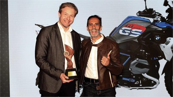 La BMW R 1200 GS Ride,Mejor Moto del año