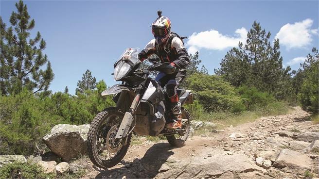 KTM 790 Adventure R: ¡Ya rueda!