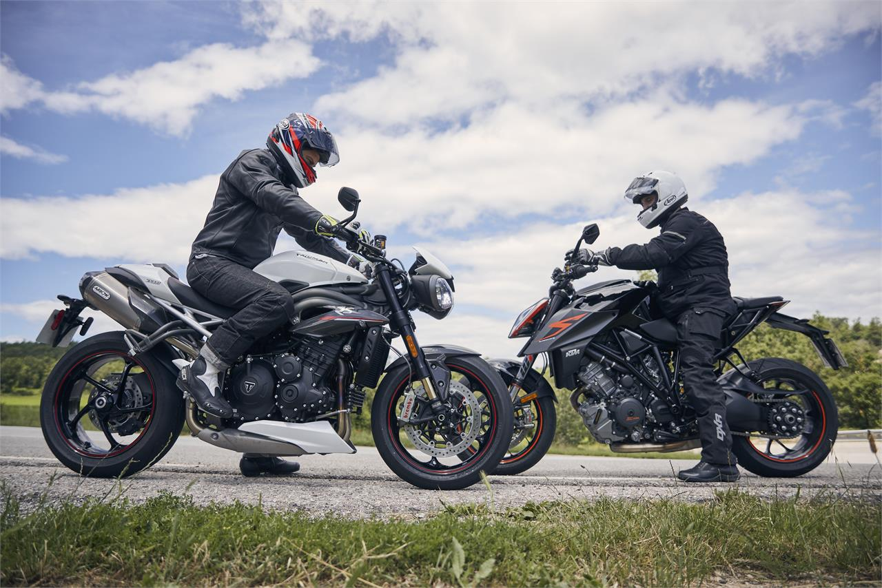 KTM 1290 Super Duke R vs Triumph Speed Triple RS: Explosivas a rabiar - foto 2
