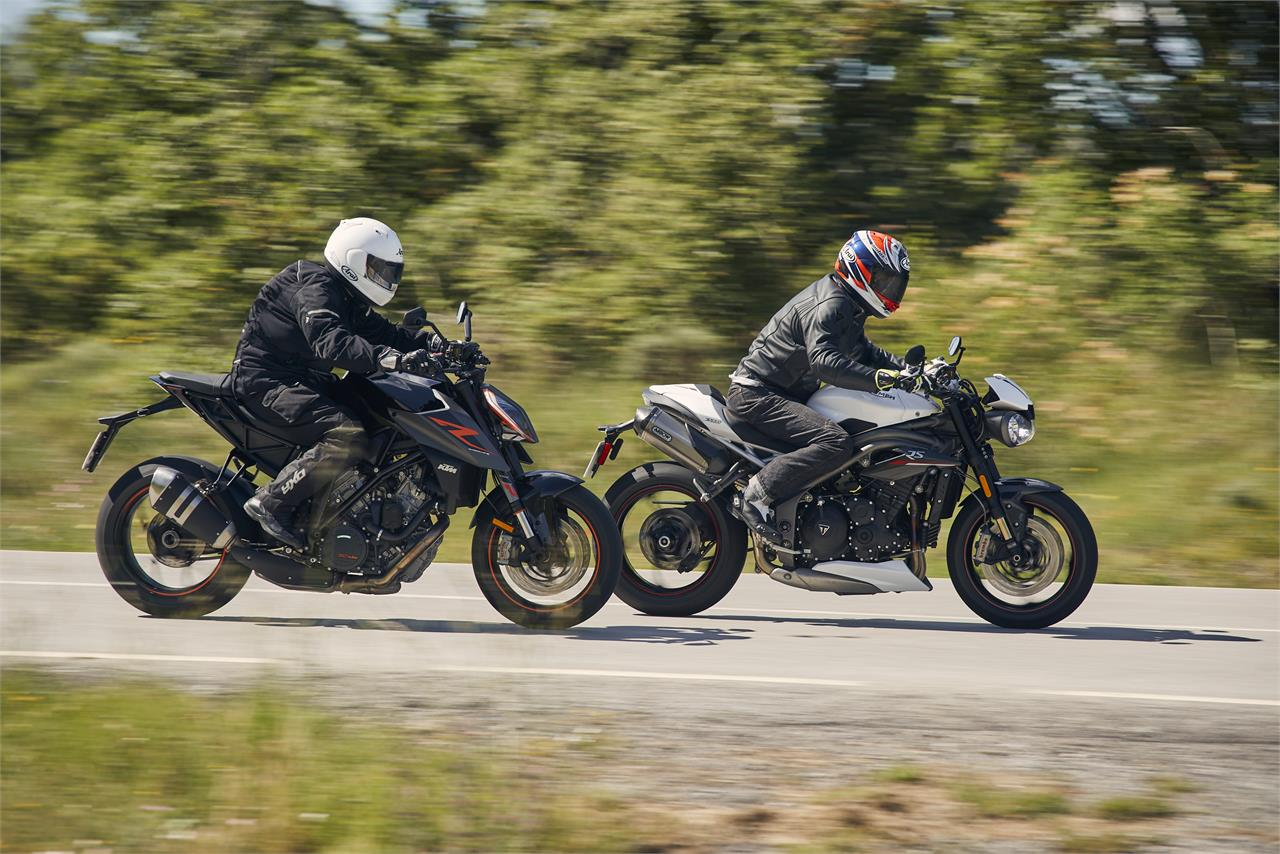 KTM 1290 Super Duke R vs Triumph Speed Triple RS: Explosivas a rabiar - foto 58