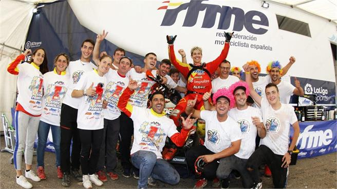 Enric Francisco Campeón del Mundo