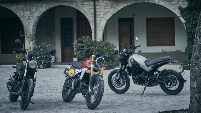 Scramblers de 400 y 500 cc: carnet A2