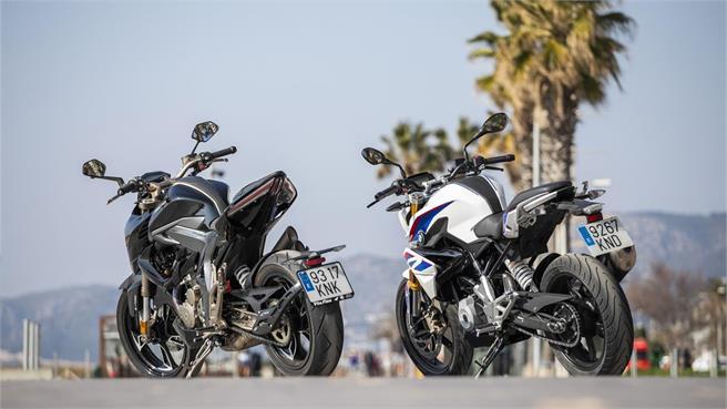 BMW G 310 R vs Zontes R-310