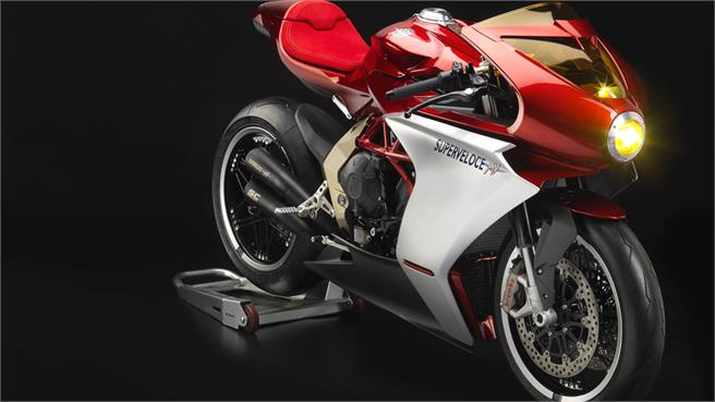 MV Agusta Superveloce 800 Gold Series