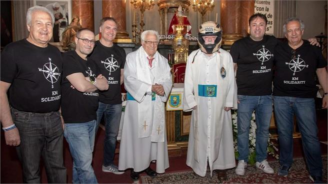 Ruta solidaria al Vaticano