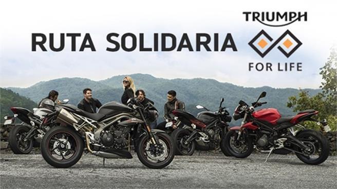 Triumph for Life: Rutas solidarias