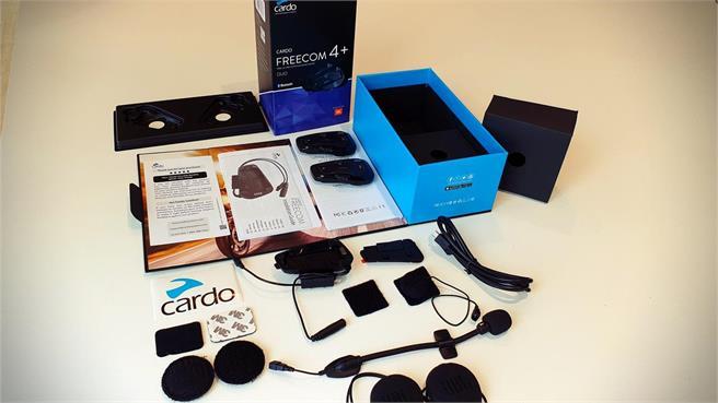 Cardo Freecom 4+ intercomunicadores