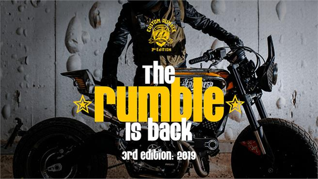 Custom Rumble 2019 de Ducati Scrambler